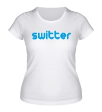 Женская футболка Switter