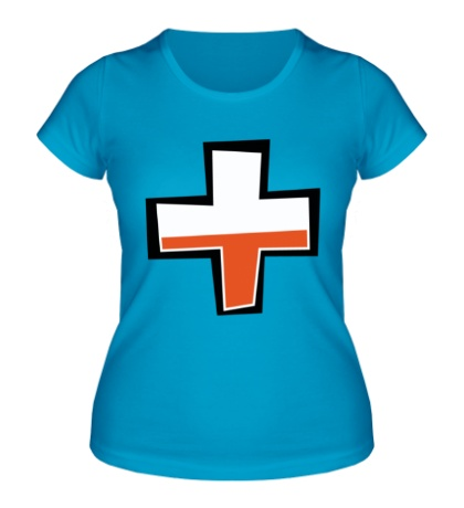 Женская футболка TF2: Health