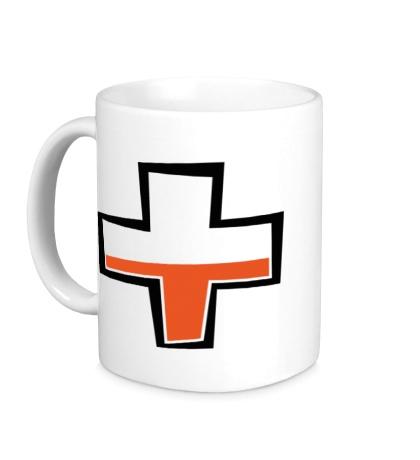 Керамическая кружка TF2: Health