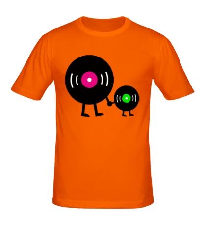 Мужская футболка Vinyl Records