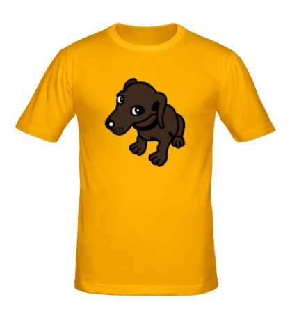 Мужская футболка Добрая собачка
