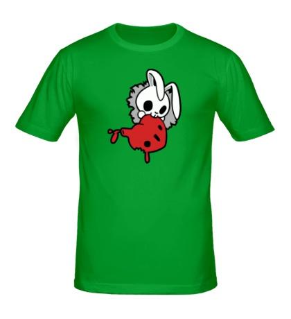 Мужская футболка Злой зайчик