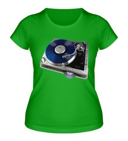Женская футболка Music