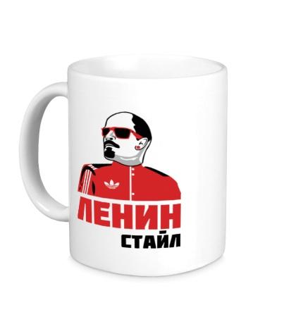 Керамическая кружка Ленин стайл