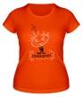 Женская футболка «Веселая принцесса» - Фото 1