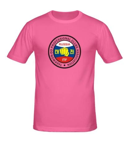 Мужская футболка Taekwon-do Russia
