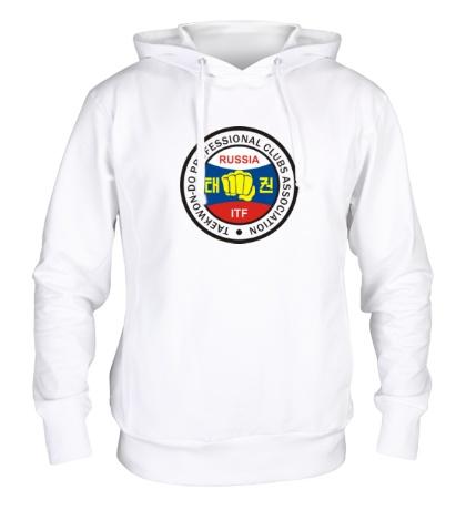 Толстовка с капюшоном Taekwon-do Russia