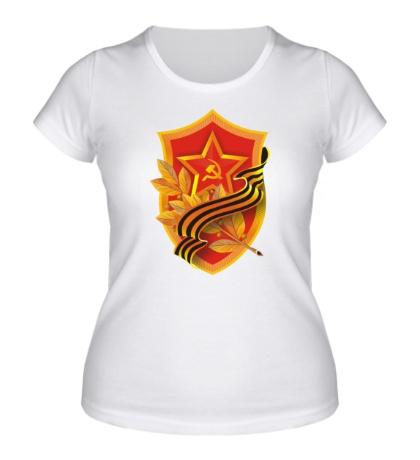 Женская футболка Орден победы