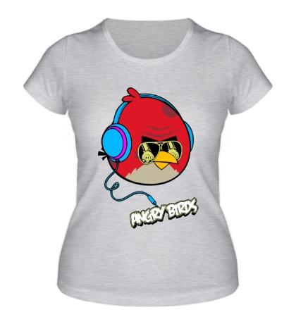 Женская футболка Angry Birds Music