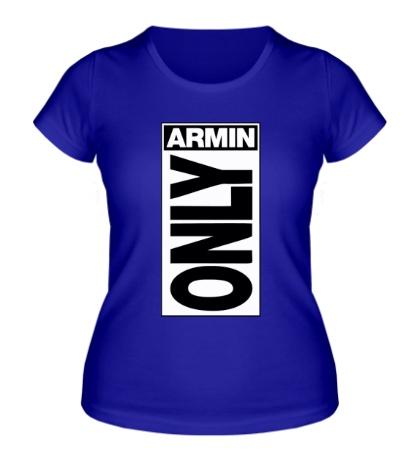 Женская футболка Armin Only Label