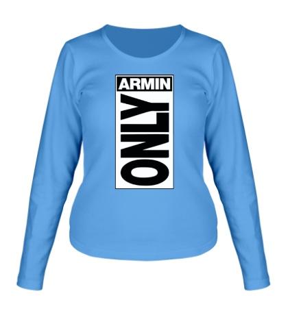 Женский лонгслив Armin Only Label