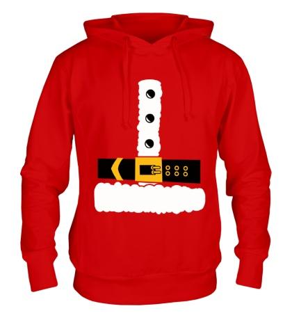Толстовка с капюшоном Шуба Деда Мороза