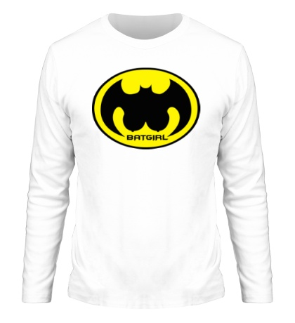 Мужской лонгслив «Batgirl»