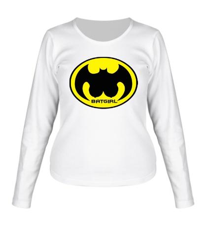 Женский лонгслив Batgirl