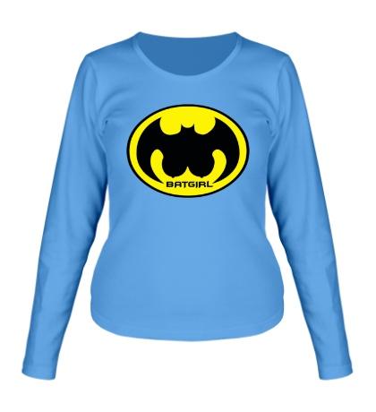 Женский лонгслив «Batgirl»