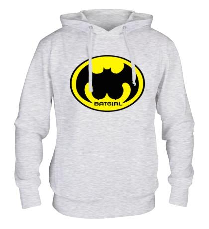 Толстовка с капюшоном «Batgirl»