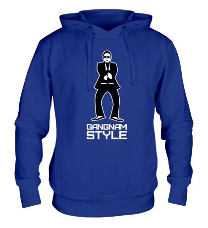 Толстовка с капюшоном Gangnam style dancing
