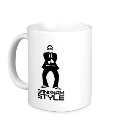 Керамическая кружка Gangnam style dancing
