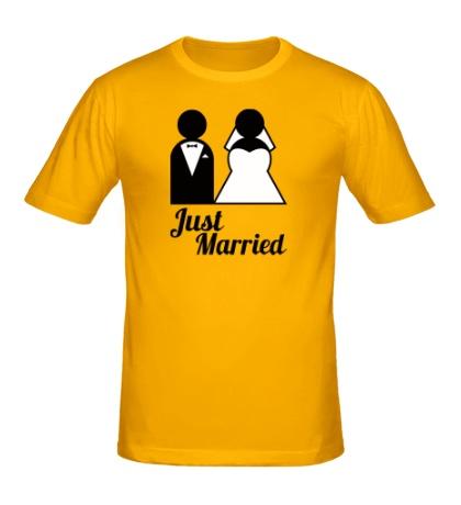 Мужская футболка Classic Just Married