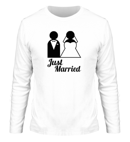 Мужской лонгслив Classic Just Married