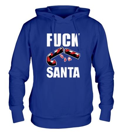 Толстовка с капюшоном Fuck Santa