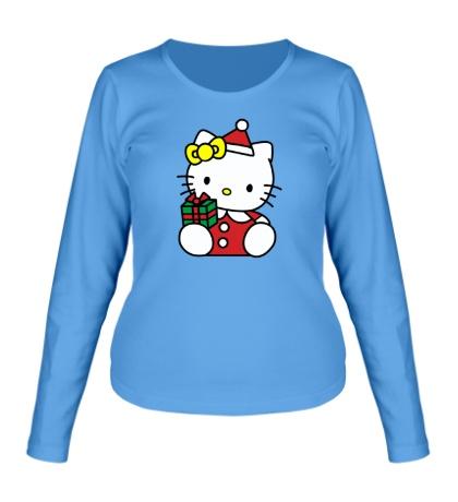 Женский лонгслив Hello Kitty с подарком