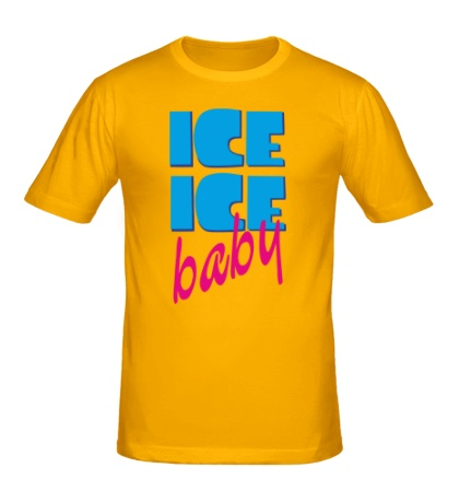 Мужская футболка Ice Ice Baby