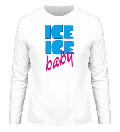 Мужской лонгслив Ice Ice Baby
