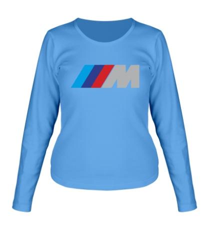 Женский лонгслив BMW M