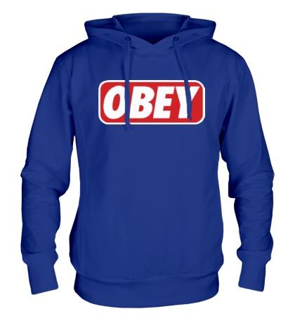 Толстовка с капюшоном Obey Sign