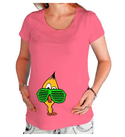 Футболка для беременной Ципа в очках