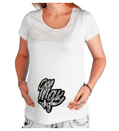 Футболка для беременной MDK Sticker