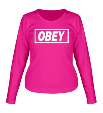 Женский лонгслив Obey