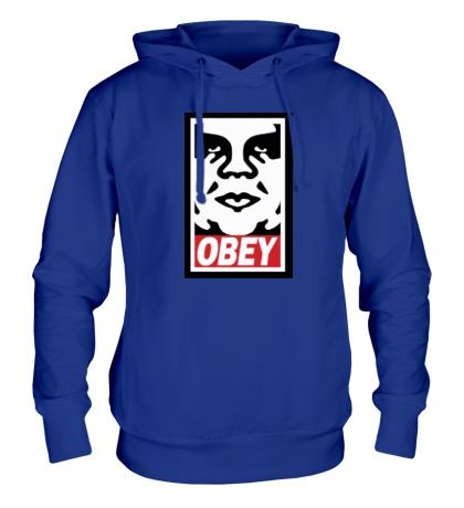 Толстовка с капюшоном Obey the Giant