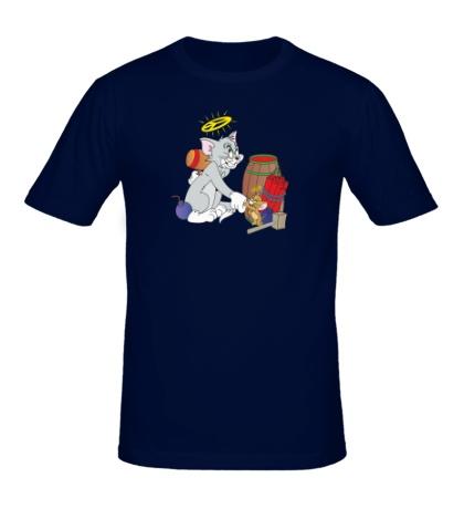 Мужская футболка Том со взрывчаткой