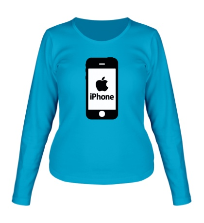 Женский лонгслив Apple iPhone