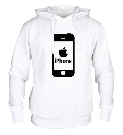 Толстовка с капюшоном Apple iPhone