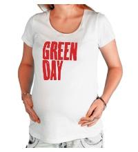 Футболка для беременной Green Day