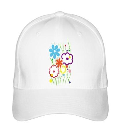 Бейсболка «Цветы»