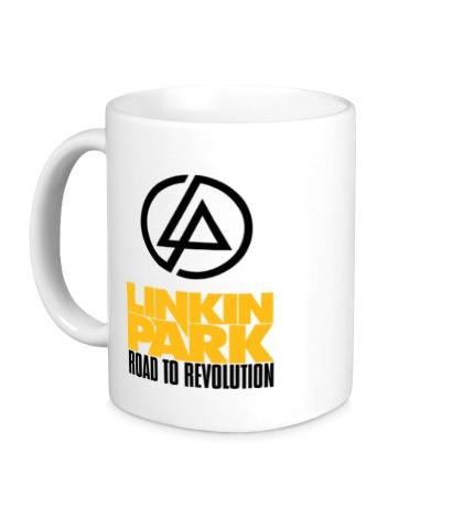 Керамическая кружка Linkin Park: Road to Revolution