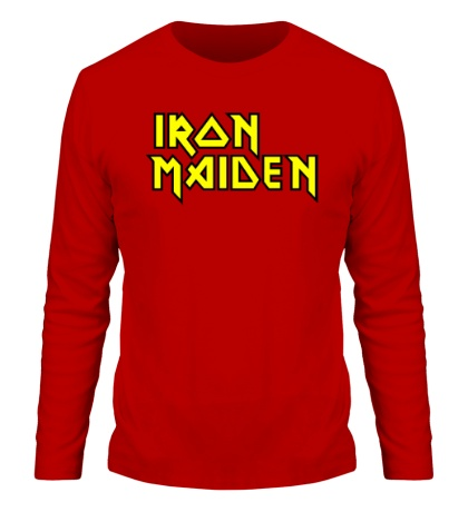 Мужской лонгслив Iron Maiden Logo
