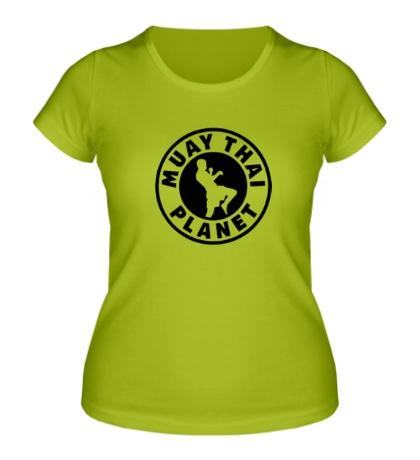 Женская футболка Muay Thai Planet