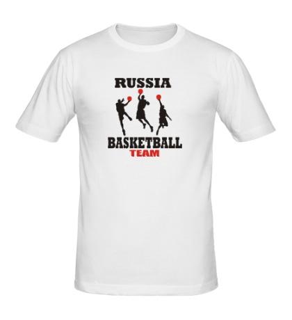 Мужская футболка Russia: Basketball Team