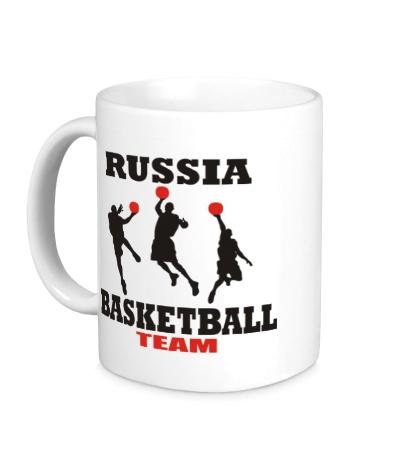 Керамическая кружка Russia: Basketball Team