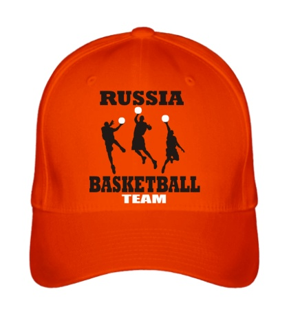 Бейсболка Russia: Basketball Team