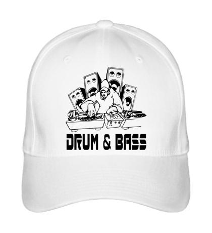 Бейсболка Drum & Bass Music