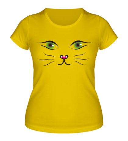 Женская футболка «Я кошка»