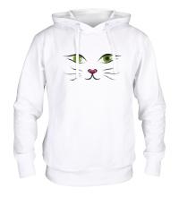 Толстовка с капюшоном Я кошка