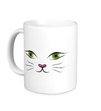 Керамическая кружка Я кошка