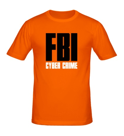 Мужская футболка «FBI Cyber Crime»